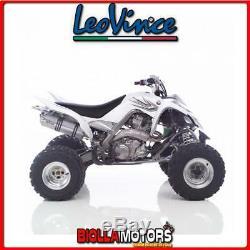 3894 Leven Yamaha Yfm 700 R Raptor Silencer 2007- X3 Aluminum / Stainless Steel