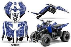 Atv Graphic Kit Decal Sticker For Yamaha Raptor 90 Yfm90 09-15 Reaper