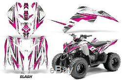 Atv Graphic Kit Decal Sticker For Yamaha Raptor 90 Yfm90 09-15 Slash