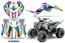 Atv Graphic Kit Decalcomanie Auto-stick Cover For Yamaha Raptor 90 Yfm90