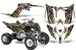 Atv Graphics Decal Sticker Kit For Yamaha Raptor Yfm700r 2013-2018 Love