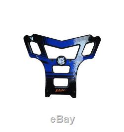 Bumper Axp Baxper Phd Black / Blue Yamaha Yfm350r Raptor