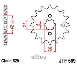Chain Complete Kit Steel Raptor Yfm 350 S 2004- Quad Yamaha