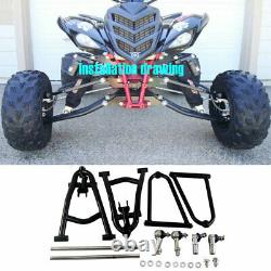 Extended A-bras '2'' Wide Fully Adjustable For Yamaha Raptor 700 Yfm700