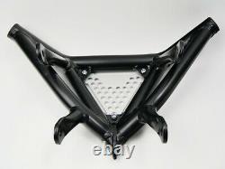 Front Bumper Yamaha Raptor Yfm 250 R Black Aluminium