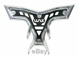 Front Bumper Yamaha Raptor Yfm 250 R Black Silver