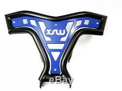 Front Bumper Yamaha Raptor Yfm 700 R Black Blue