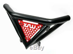 Front Bumper Yamaha Raptor Yfm 700 R Black Red
