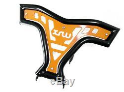 Front Bumper Yamaha Raptor Yfm 700 R Orange