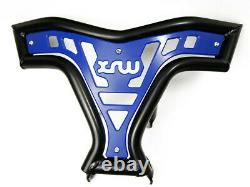 Front Pare-chocs For Yamaha Raptor Yfm 660 R, Blue