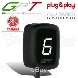 Gear Indicator Tpg Plug & Play Aluminum Bianco Yamaha Yfm 700 Raptor Atv