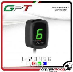 Gpt Speed Indicator Plug & Play Green Yamaha Yfm660 Raptor 20022005