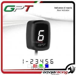 Gpt Speed Indicator Plug & Play White Yamaha Yfm700 Raptor 20052010