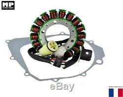 Ignition Stator With Seal Yamaha Yfm 350 Raptor 2004-2013 Oem 5fu-81410-00-00