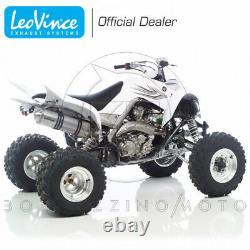 Leovince X3 Aluminium Yamaha Yfm 700 R Raptor Escape Pipe 2006-2012