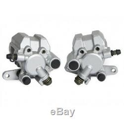 Pair Of Front Brake Caliper For Yamaha Raptor 660 Yfm From 2001 To 2005