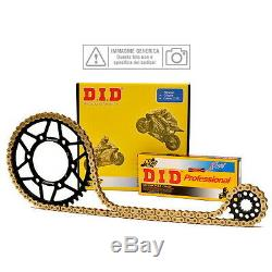 Set Transmission DID Chain gear Gear Yamaha 660 Yfm R Raptor 2004 Did12
