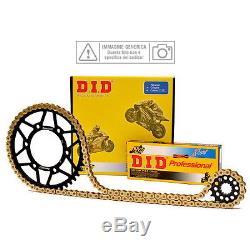 Set Transmission DID Chain gear Gear Yamaha 660 Yfm R Raptor 2005 Did12