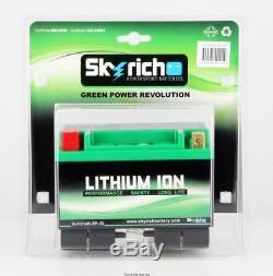Skyrich Lithium Battery Hjtx14h-fp Yamaha Yfm 660 R Raptor 01/05
