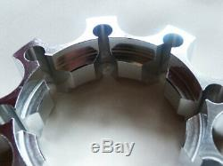 Spacers Wheel Yamaha Yfm Grizzly 550/660/700 35/45 MM X 4 Front + Rear