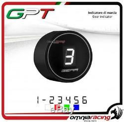 Speed indicator Gpt Plug & Play Black Led White Yamaha Yfm700 Raptor 20052010