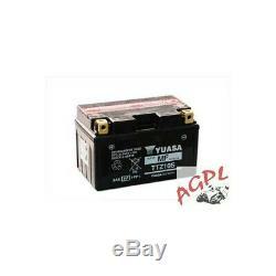 Yamaha Mt07 / Xsr / Mt09 / Yzf R6-r1 / Fz8 / Yfm 350 R Raptor Battery Yuasa Ttz