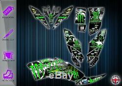 Yamaha Raptor 250 Graphics Kit Decals Stickers Graphics Yfm 250 Atv