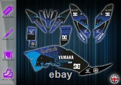 Yamaha Raptor 250 Stickers Kit Graphic Stickers Yfm 250 Atv