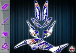Yamaha Raptor 350 Graphics Kit Decals Stickers Yfm 350 Atv Graphic Kit