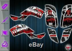 Yamaha Raptor 660r 660 Stickers Kit Yfm Graphic Card