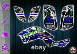 Yamaha Raptor 660r Stickers 660 Graphics Kit Yfm