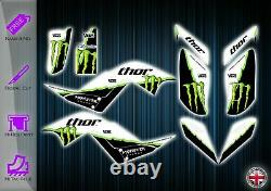 Yamaha Raptor 700 Stickers Graphic Kit Stickers Yfm 700 Atv Graphics