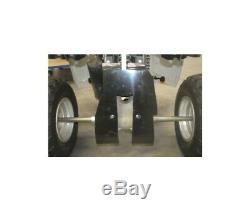 Yamaha Raptor 700 Yfm -09/17 Sabot Protective Rear Axp-4411244