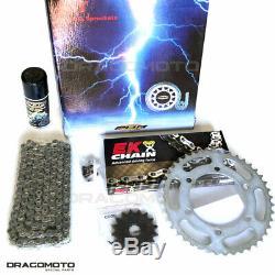Yamaha Yfm660 Rle-s Raptor Ltd Ed. 2004 660 Blk Crown Sprocket Chain Set Pbr