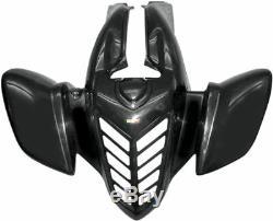 Yamaha Yfm660r Raptor 01-05 Maier Standard Front Wing Black