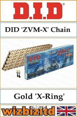 Yamaha Yfm700 R Raptor 2006-2016 DID Gold Zvm-x Pignon C-s Kit