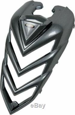 Yamaha Yfm700r Raptor 06-08 Maier Standard Carbon Fiber Hood Black