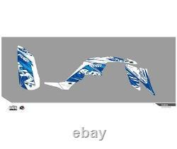 Yamaha Yfm 350 Raptor-03/14-kit Deco Kutvek Rotor Blue-78104003