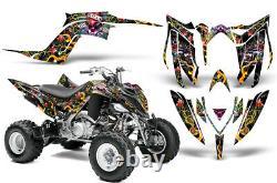 Atv Graphique Kit Autocollant Décalque Pour Yamaha Raptor YFM700R 2013-2018 Love