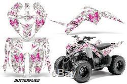 Atv Graphique Kit Décalque Autocollant Wrap pour Yamaha Raptor 90 Yfm90 09-15
