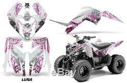 Atv Graphique Kit Décalque Autocollant pour Yamaha Raptor 90 Yfm90 09-15 Luna