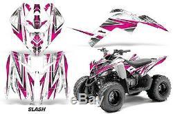 Atv Graphique Kit Décalque Autocollant pour Yamaha Raptor 90 Yfm90 09-15 Slash