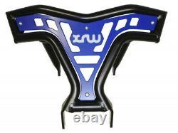 Avant Pare-Chocs pour Yamaha Raptor YFM 700 R Noir Bleu