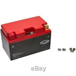 Batterie au Lithium HJTZ10S-FP pour Yamaha YFM 350 Rw Raptor 2007 de JMT