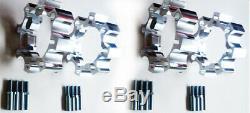 Entretoises de Roue Yamaha Raptor YFM 660 R 35/45 mm Complet x4 avant + Arrière