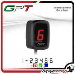 Indicateur de vitesse GPT plug & play rouge Yamaha YFM660 RAPTOR 20022005