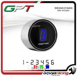 Indicateur vitesse GPT plug&play argent led bleu Yamaha YFM700 RAPTOR 20052010