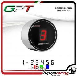 Indicateur vitesse GPT plug&play argent led rouge Yamaha YFM700 RAPTOR 20052010