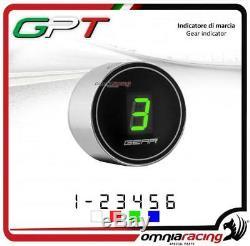 Indicateur vitesse GPT plug&play argent led vert Yamaha YFM700 RAPTOR 20052010