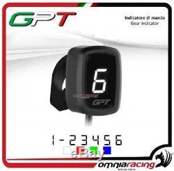 Indicateur vitesse GPT plug&play blanc+support Yamaha YFM660 RAPTOR ATV 0205